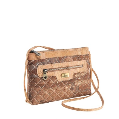 ССумка crossbody из пробки Laura. Voyage Collection